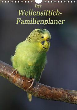 Der Wellensittich-Familienplaner (Wandkalender 2019 DIN A4 hoch) von Lindert-Rottke,  Antje
