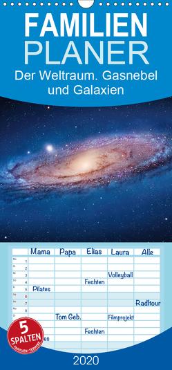 Der Weltraum. Gasnebel und Galaxien – Familienplaner hoch (Wandkalender 2020 , 21 cm x 45 cm, hoch) von Stanzer,  Elisabeth