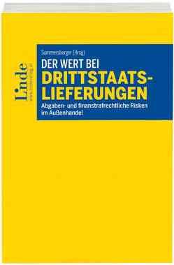 Der Wert bei Drittstaatslieferungen von Summersberger,  Walter