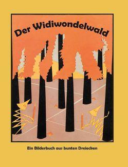Der Widiwondelwald / Hurleburles Wolkenreise von Krüger,  Hilde
