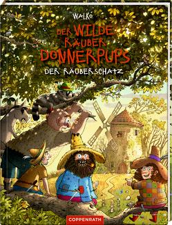 Der wilde Räuber Donnerpups von Walko