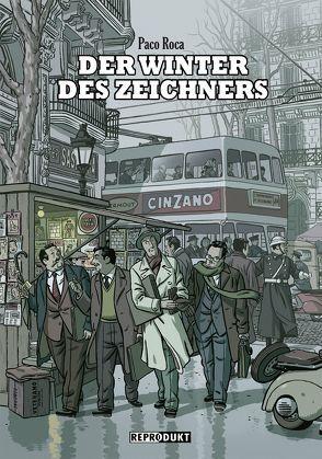 Der Winter des Zeichners von Höchemer,  André, Roca,  Paco
