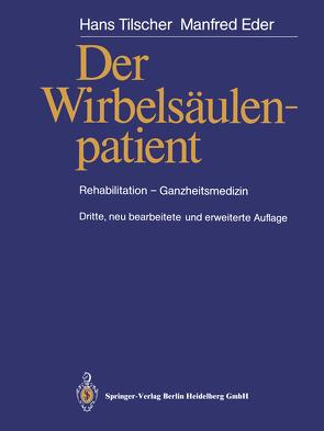 Der Wirbelsäulenpatient von Eder,  Manfred, Tilscher,  Hans