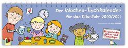 Der Wochen-Tischkalender für das Kita-Jahr 2020/2021 von Verlag an der Ruhr,  Redaktionsteam