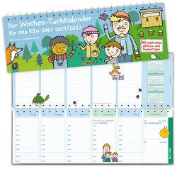 Der Wochen-Tischkalender für das Kita-Jahr 2021/2022 von Verlag an der Ruhr,  Redaktionsteam