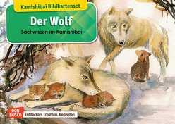 Der Wolf. Kamishibai Bildkartenset. von Klars,  Monika, Stöckl,  Katharina