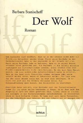 Der Wolf von Stanischeff,  Barbara