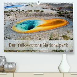 Der Yellowstone Nationalpark (Premium, hochwertiger DIN A2 Wandkalender 2021, Kunstdruck in Hochglanz) von by Sylvia Seibl,  CrystalLights