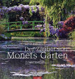 Der Zauber von Monets Garten – Kalender 2019 von Richner,  Werner, Weingarten