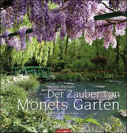Der Zauber von Monets Garten Kalender 2020 von Richner,  Werner, Weingarten
