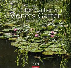 Der Zauber von Monets Garten Kalender 2021 von Richner,  Werner, Weingarten