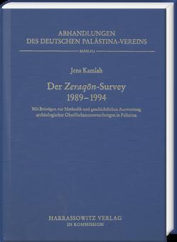 Der Zeraqon-Survey 1989-1994 von Kamlah,  Jens