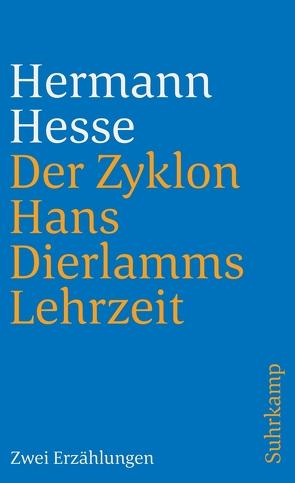Der Zyklon und Hans Dierlamms Lehrzeit von Hesse,  Hermann