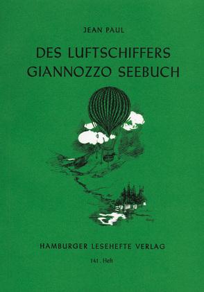 Des Luftschiffers Giannozzo Seebuch von Jean Paul