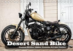 Desert Sand Bike (Tischkalender 2021 DIN A5 quer) von von Pigage,  Peter