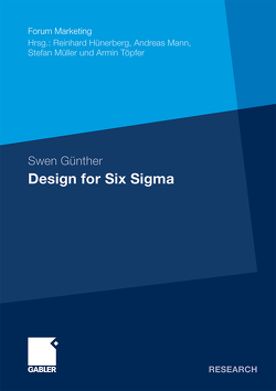 Design for Six Sigma von Günther,  Swen