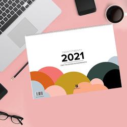 Design Wandkalender A4 quer (2021) von Garschhammer,  Anja