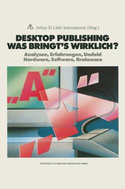 Desktop Publishing Was bringt's wirklich? von Peters,  Joachim