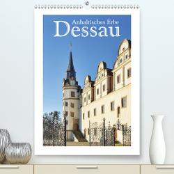Dessau – Anhaltisches Erbe (Premium, hochwertiger DIN A2 Wandkalender 2021, Kunstdruck in Hochglanz) von LianeM