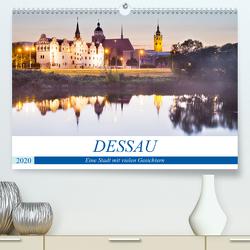 DESSAU – Eine Stadt mit vielen Gesichtern (Premium, hochwertiger DIN A2 Wandkalender 2020, Kunstdruck in Hochglanz) von boeTtchEr,  U