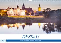 DESSAU – Eine Stadt mit vielen Gesichtern (Wandkalender 2021 DIN A3 quer) von boeTtchEr,  U