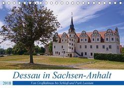 Dessau in Sachsen-Anhalt (Tischkalender 2018 DIN A5 quer) von Bussenius,  Beate