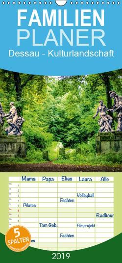 Dessau – Kulturlandschaft – Familienplaner hoch (Wandkalender 2019 , 21 cm x 45 cm, hoch) von Bösecke,  Klaus