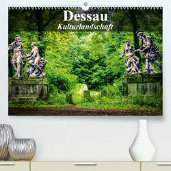 Dessau – Kulturlandschaft (Premium, hochwertiger DIN A2 Wandkalender 2020, Kunstdruck in Hochglanz) von Bösecke,  Klaus