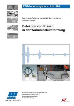 Detektion von Rissen in der Warmblechumformung von Behrens,  Bernd-Arno, Hanke,  Randolf, Müller,  Thorsten, Wölki,  Kai