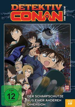 Detektiv Conan – 18. Film: Der Scharfschütze aus einer anderen Dimension – DVD von Shizuno,  Kobun