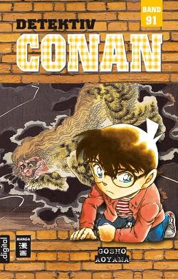 Detektiv Conan 91 von Aoyama,  Gosho, Shanel,  Josef