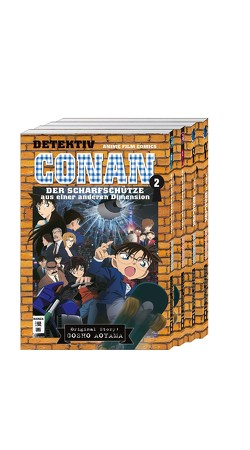Detektiv Conan – Anime-Comics – Komplettpaket von Aoyama,  Gosho, Shanel,  Josef