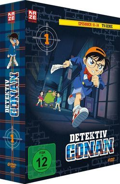 Detektiv Conan – die TV-Serie – DVD Box 1 von Yamamoto,  Kenji Kodama,  Kojin Ochi,  Masato Sato,  Yasuichiro