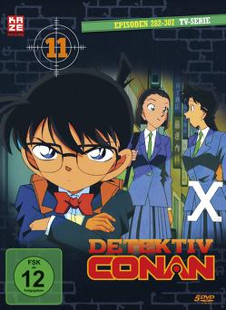 Detektiv Conan – TV-Serie – DVD Box 11 (Episoden 281-307) (5 DVDs) von Kodama,  Kenji, Ochi,  Kojin, Sato,  Masato, Yamamoto,  Yasuichiro