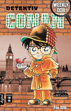 Detektiv Conan Weekly 008 von Aoyama,  Gosho, Shanel,  Josef