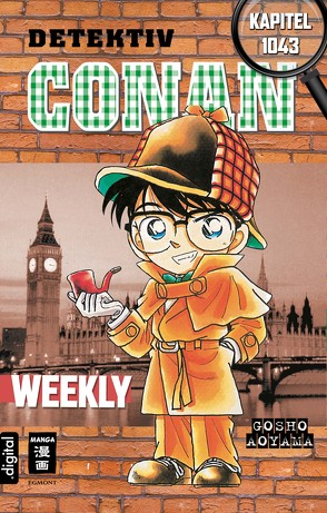 Detektiv Conan Weekly Kapitel 1043 von Aoyama,  Gosho, Shanel,  Josef