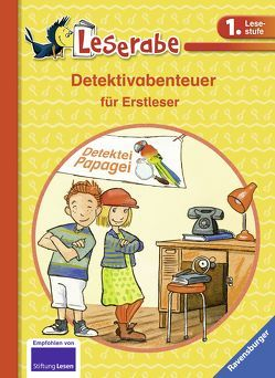 Detektivabenteuer für Erstleser von Kersten,  Detlef, Pricken,  Stephan, Reider,  Katja, Wiese,  Petra