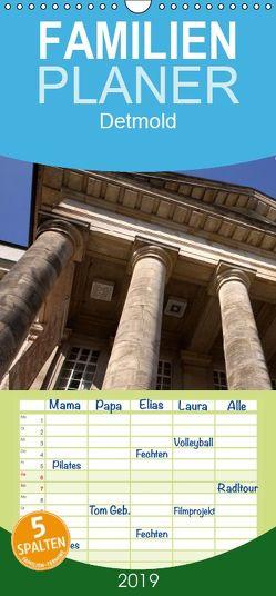 Detmold – Familienplaner hoch (Wandkalender 2019 , 21 cm x 45 cm, hoch) von Berg,  Martina