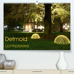 Detmold Lichtspielerei (Premium, hochwertiger DIN A2 Wandkalender 2021, Kunstdruck in Hochglanz) von Witzel,  Christine