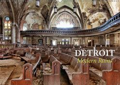Detroit – Modern Ruins (Wandkalender 2019 DIN A2 quer) von Kersten,  Peter