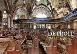 Detroit – Modern Ruins (Wandkalender 2019 DIN A3 quer) von Kersten,  Peter