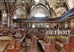 Detroit – Modern Ruins (Wandkalender 2019 DIN A4 quer) von Kersten,  Peter