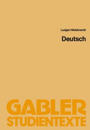 Deutsch von Ludger,  Hildebrandt