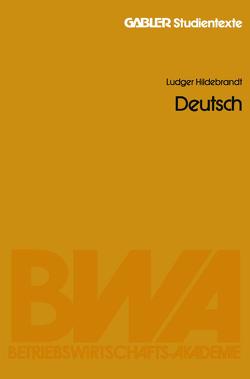 Deutsch von Hildebrandt,  Ludger