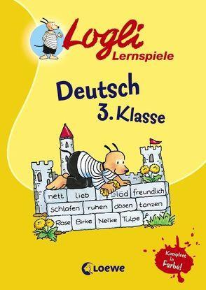 Deutsch 3. Klasse von Beurenmeister,  Corina, Kalwitzki,  Sabine, Krause,  Erich