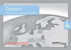 Deutsch 4 (DaZ) (Lösungsheft) von Wachendorf,  Anja, Wachendorf,  Peter