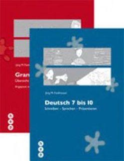Deutsch 7 bis 10 | Grammatik 7 bis 10 von Fankhauser,  Jürg M