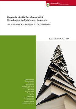 Deutsch für die Berufsmaturität von Bornand,  Jilline, Eggler,  Andreas