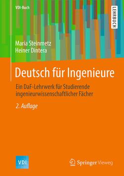 Deutsch für Ingenieure von Dintera,  Heiner, Steinmetz,  Maria