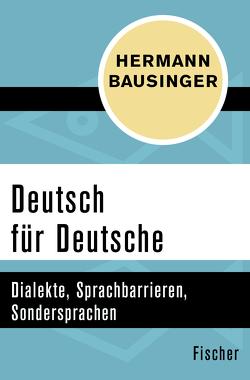 Deutsch für Deutsche von Bausinger,  Hermann
